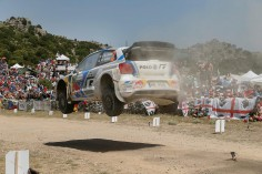 FIA WORLD RALLY CHAMPIONSHIP (WRC 2015): VOLKSWAGEN RED BULL MOTORSPORT – WITHIN TOUCHING DISTANCE OF THE LEAD – OGIER AND LATVALA SECOND AND THIRD IN ITALY