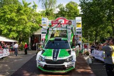 ONE-TWO FOR  ŠKODA: JAN KOPECKÝ EXTENDS LEAD IN THE CZECH RALLY CHAMPIONSHIP