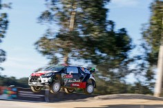 FIA WORLD RALLY CHAMPIONSHIP (WRC 2015): CITROËN TOTAL ABU DHABI WORLD RALLY TEAM- KRIS MEEKE POSITIONED AS THE HUNTER
