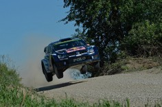 FIA WORLD RALLY CHAMPIONSHIP (WRC 2015): VOLKSWAGEN RED BULL MOTORSPORT- THREE, TWO, ONE – FLAT OUT: VOLKSWAGEN LEADS WITH THRE POLO R WRC