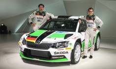 FIA WORLD RALLY CHAMPIONSHIP (WRC2 2015): BRR TEAM- FABIA R 5 ON TOUR AND FOR RENT, GERMANY, HUNGARY AND WRC IN PORTUGAL