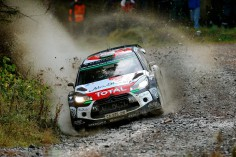 FIA WORLD RALLY CHAMPIONSHIP (WRC 2015): WALES RALLY GB – CITROËN TOTAL ABU DHABI WORLD RALLY TEAM – KRIS MEEKE HOLDS SECOND IN WALES