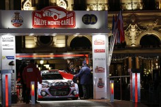 FIA WORLD RALLY CHAMPIONSHIP 2015: HYUNDAI SHELL WORLD RALLY TEAM-TACKLES TRICKY CONDITIONS IN OPENING STAGES OF RALLYE MONTE-CARLO