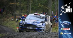 M-SPORT WORLD RALLY TEAM:MIDDAY QUOTE, WALES RALLY GB, DAY ONE
