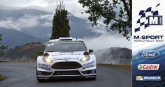 FIA WORLD RALLY CHAMPIONSHIP (WRC 2015): M-SPORT WORLD RALLY TEAM – MIDDAY QUOTES TOUR DE CORSE, SECTION ONE