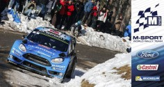 FIA WORLD RALLY CHAMPIONSHIP (WRC 2016): MIXED EMOTIONS ON M-SPORT'S MONTE