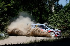 FIA WORLD RALLY CHAMPIONSHIP (WRC 2015): HYUNDAI SHELL WORLD RALLY TEAM- POSITIVE PROGRESS FOR HYUNDAI MOTORSPORT ON PENULTIMATE DAY OF RALLY POLAND