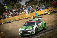 RALLY GERMANY: GOOD START FOR ŠKODA AT WORLD CHAMPIONSHIP RALLY AMONG THE VINEYARDS