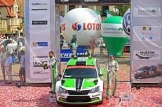 FIA WORLD RALLY CHAMPIONSHIP (WRC2 – 2015): ŠKODA MOTORSPORT – SPECIAL DAY FOR ŠKODA: LAPPI CLAIMS MAIDEN WRC2 VICTORY IN NEW FABIA R5