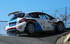 ITALIAN RALLY CHAMPIONSHIP (CIR) 2015: PAOLO ANDREUCCI AND ANNA ANDREUSSI, PEUGEOT 208 T16 R5, WIN THE 62ND RALLYE SANREMO