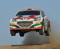 FIA WORLD RALLY CHAMPIONSHIP (WRC2-2015): PEUGEOT SPORT ITALY- PAOLO ANDREUCCI AN ITALIAN HERO AT THE WORLD RALLY CHAMPIONSHIP!