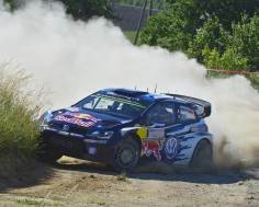 FIA WORLD RALLY CHAMPIONSHIP (WRC 2015): VOLKSWAGEN RED BULL MOTORSPORT- SPEED MERCHANTS IN TOP FORM – VOLKSWAGEN SETS PACE ON RALLY POLAND- SHAKEDOWN
