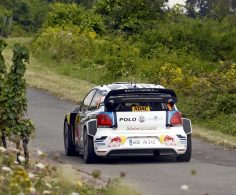 MIKKELSEN AND LATVALA FASTEST ON RALLY GERMANY