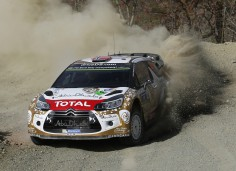 FIA WORLD RALLY CHAMPIONSHIP (WRC) 2015: CITROËN TOTAL ABU DHABI WORLD RALLY TEAM-MADS ØSTBERG HOLDS TOP – THREE SPOT IN MEXICO!