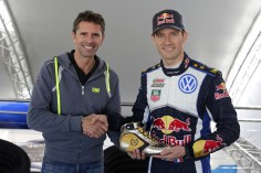 FIA WORLD RALLY CHAMPIONSHIP (WRC 2015): WALES RALLY GB – VOLKSWAGEN RED BULL MOTORSPORT – GOLDEN SHOES FOR OGIER AND INGRASSIA – VOLKSWAGEN AND OMP EXTEND COLLABORATION IN WRC