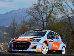 INTERNATIONAL RALLY CUP CHAMPIONSHIP (IRCUP)  2015: HMI WITH CORRADO FONTANA IN THE 2015 IRCUP