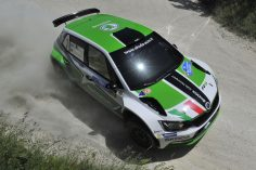 UMBERTO SCANDOLA AND GUIDO D'AMORE, SKODA FABIA R5, ARE THE WINNERS OF THE 23RD RALLY ADRIATICO