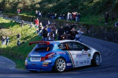 ITALIAN RALLY CHAMPIONSHIP (CIR 2016): PAOLO ANDREUCCI AND ANNA ANDREUSSI, PEUGEOT 208 T16 R5 LEADING THE ITALIAN RALLY CHAMPIONSHIP RIGHT AWAY