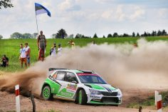 THRILLING SIZZLING BATTLE IN POLAND: LAPPI TAKES THE LEAD IN THE ŠKODA DUEL
