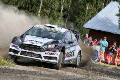 DMACK PROVES SPEED WITH TOP PACE IN FINLAND