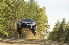 "READY TO JUMP – VOLKSWAGEN WITH THREE POLO R WRC AT THE FRONT IN ""FREE PRACTICE"""