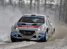 FIA EUROPEAN RALLY CHAMPIONSHIP 2015: VICTORY FOR CRAIG BREEN AND THE 208 T16!