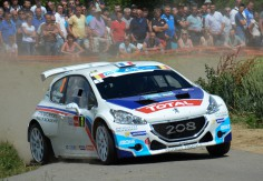 FIA EUROPEAN RALLY CHAMPIONSHIP (ERC 2015): PEUGEOT RALLY ACADEMY- THE WINNING SEQUENCE INTERRUPTED