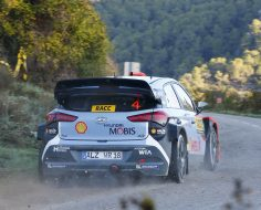 HYUNDAI MOTORSPORT FIRMLY IN THE FIGHT AFTER PENULTIMATE DAY IN SPAIN