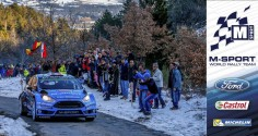 FIA WORLD RALLY CHAMPIONSHIP (WRC 2016): M-SPORT WORLD RALLY TEAM – MIDDAY QUOTES RALLYE MONTE-CARLO, SECTION TWO