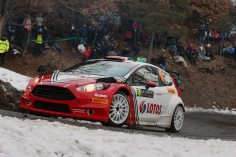 FIA WORLD RALLY CHAMPIONSHIP (WRC 2016): ROBERT KUBICA FORCED OUT OF MONTE-CARLO RALLY AFTER A PROMISING START