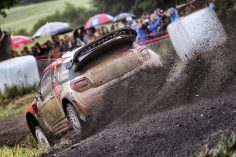 BREEN AND LEFEBVRE MAKE IT TO END OF RALLY POLAND