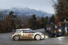 FIA WORLD RALLY CHAMPIONSHIP 2015: CITROËN TOTAL ABU DHABI WORLD RALLY TEAM-SÉBASTIEN LOEB AND KRIS MEEKE ATTACK!