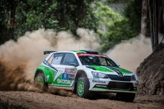 PERFECT START: ŠKODA WORKS DRIVER LAPPI WITH COMMANDING LEAD AT THE RALLY AUSTRALIA