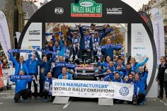 FOUR-TIME WORLD CHAMPIONS – VOLKSWAGEN CLAIMS TWELFTH WRC TITLE IN FOUR YEARS AT RALLY GREAT BRITAIN
