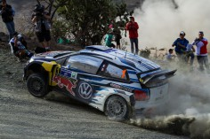 FIA WORLD RALLY CHAMPIONSHIP (WRC) 2015: WORLD CHAMPION OGIER HEADS VOLKSWAGEN 1-2 AFTER DRAMATIC OPENING LEG OF RALLY GUANAJUATO MEXICO