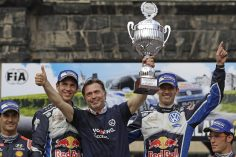 OGIER AND VOLKSWAGEN CLAIM BACK-TO-BACK HOME WINS AT THE RALLY GERMANY