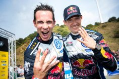 CHAMPIONS, CHAMPIONS, CHAMPIONS, CHAMPIONS*! OGIER/INGRASSIA CLAIM FOURTH TITLE IN A ROW WITH VOLKSWAGEN